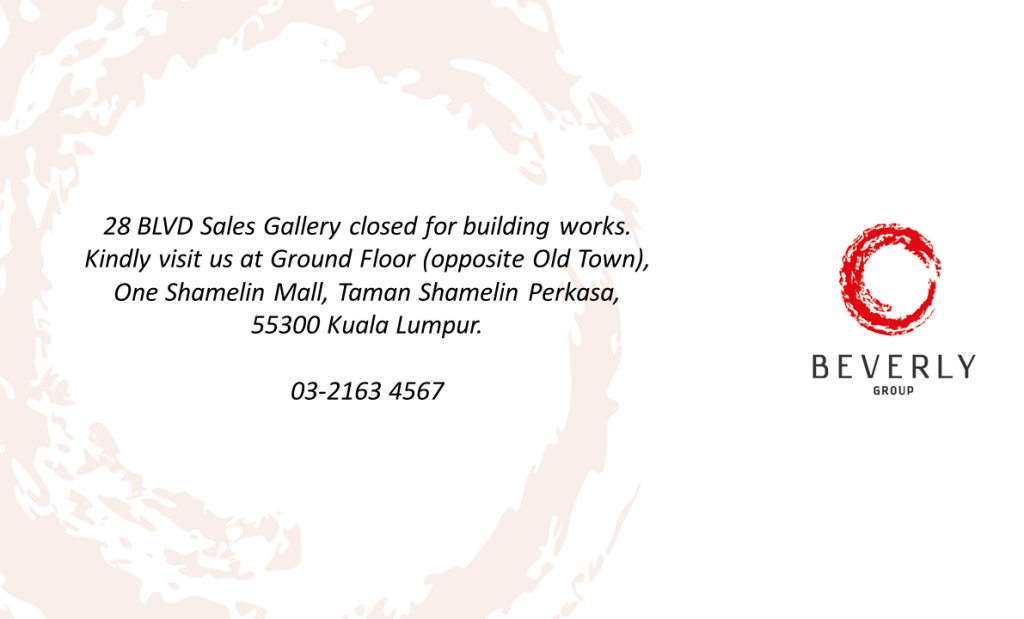 Sales Gallery Closure - Building Work