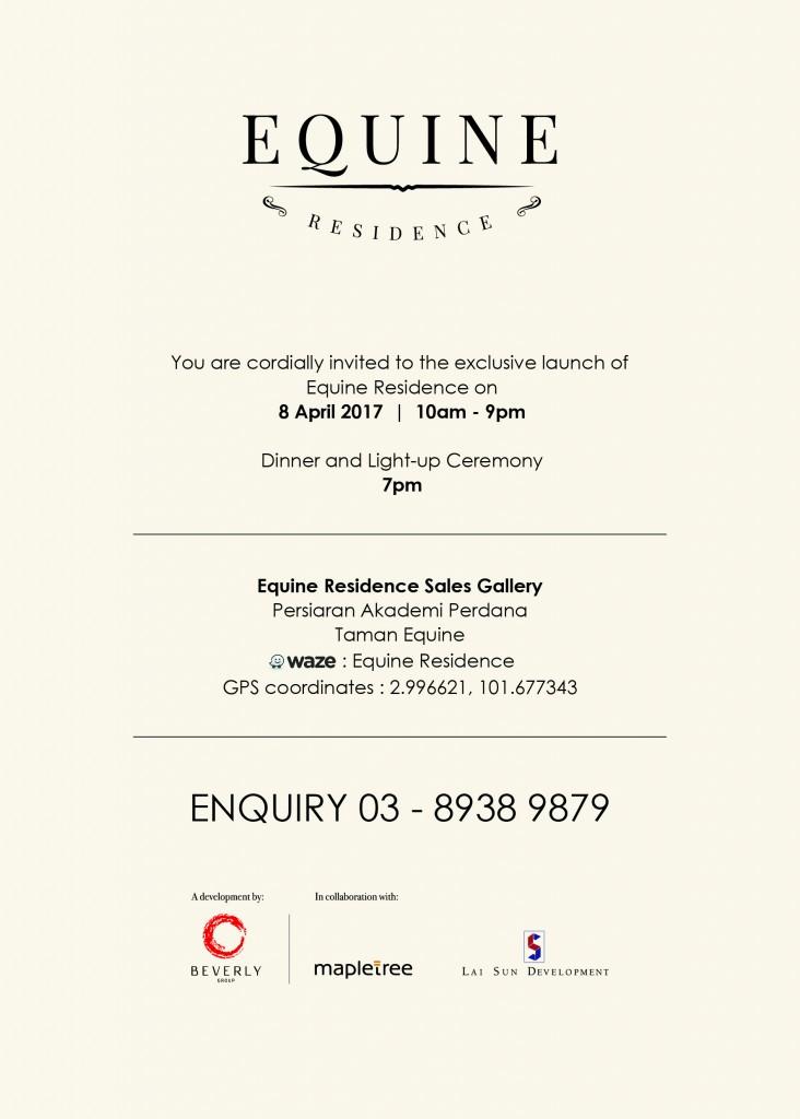 Equine Launch Invitation
